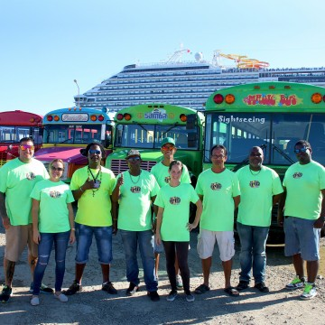 The Irie Tours team